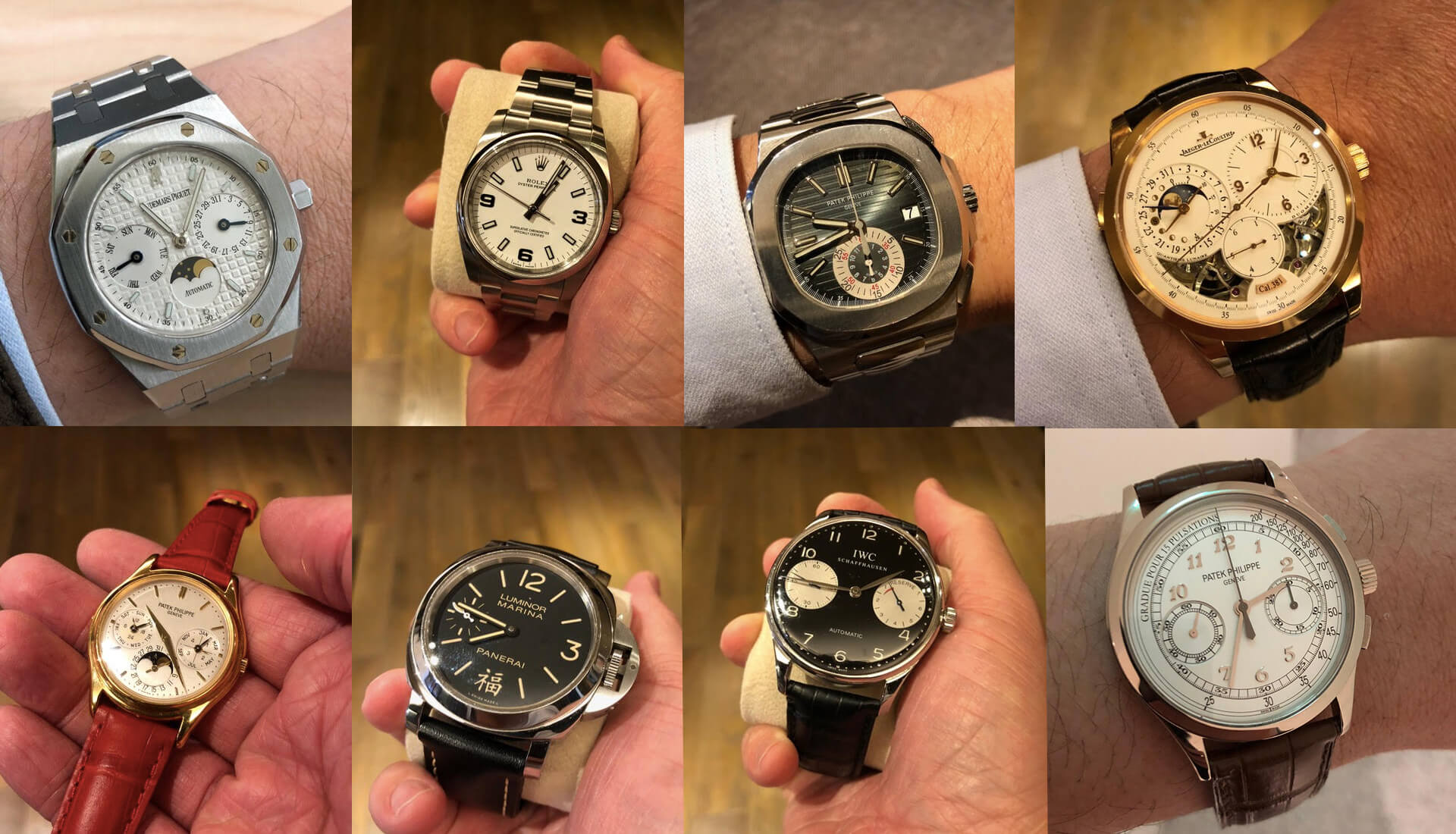 Collection Review: A Crazy Collection of Rolex, Patek Philippe, Audemars Piguet & Panerai