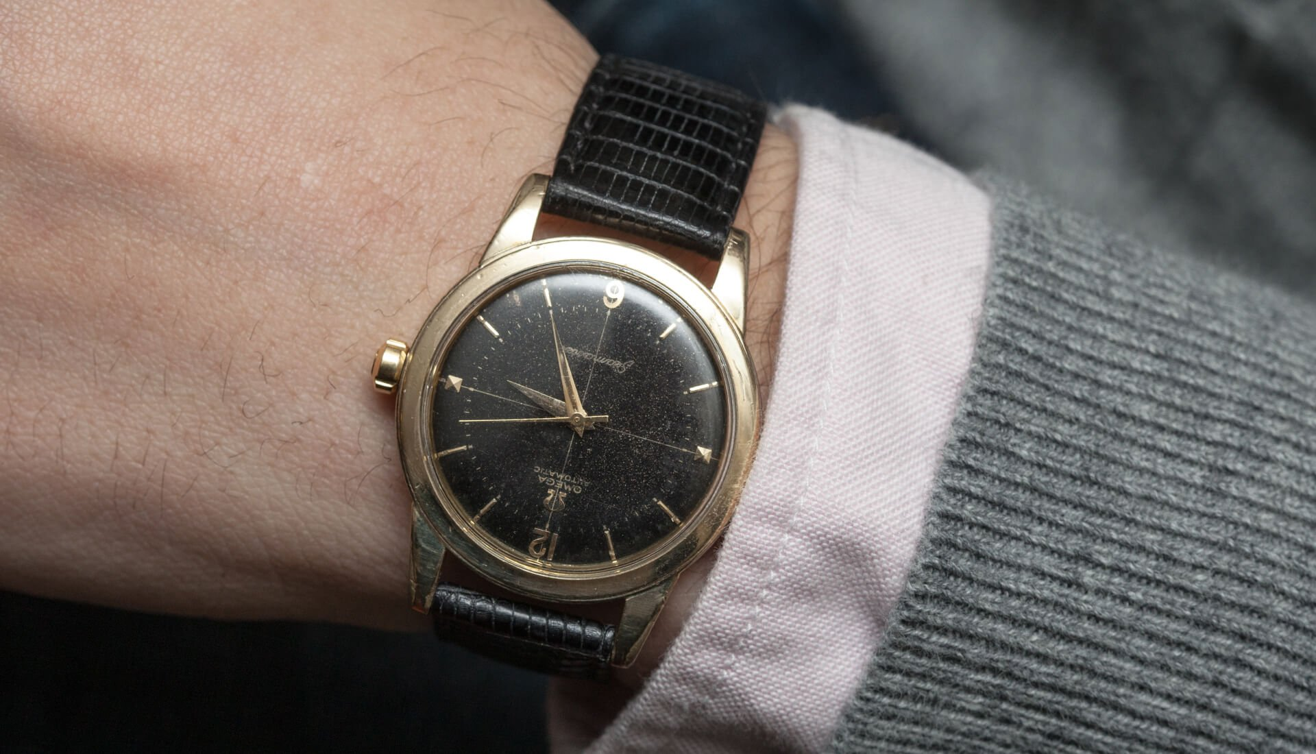 Lug2Lug: Omega Century + Seamaster, Black, Gold, And Rare