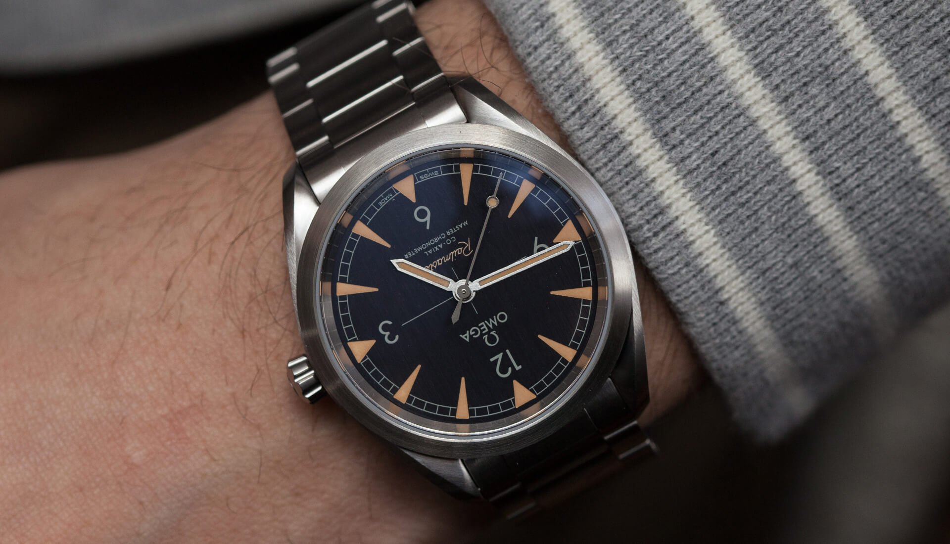 Lug2Lug: A Brand New Omega Railmaster & Vintage Constellation