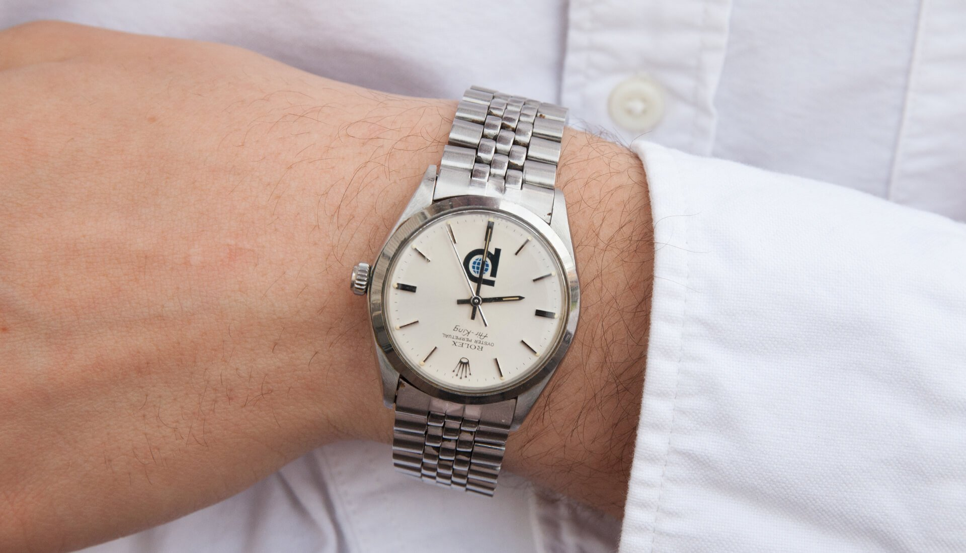 In The Metal: Omega Seamaster, Constellation and Rolex Air King