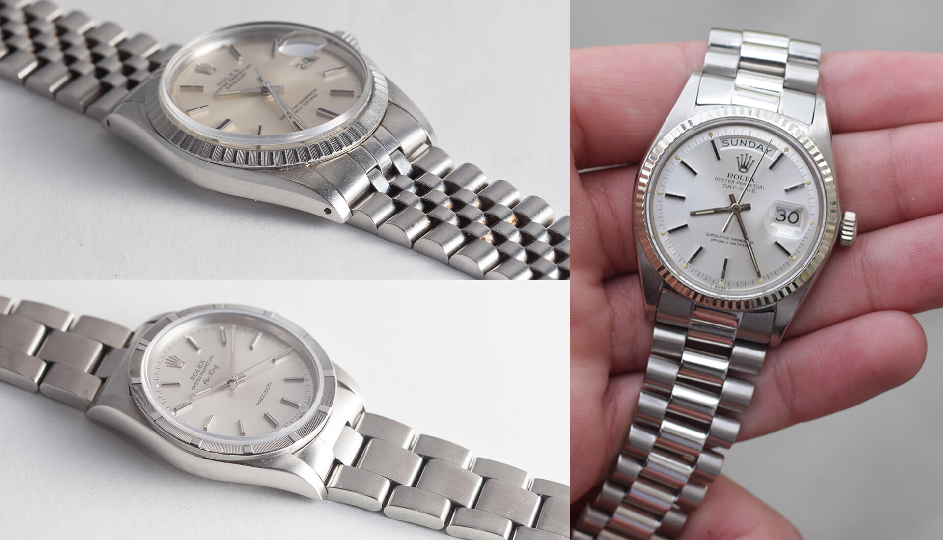 Watch 101: What Are the Different Bracelets on Rolex Watches?