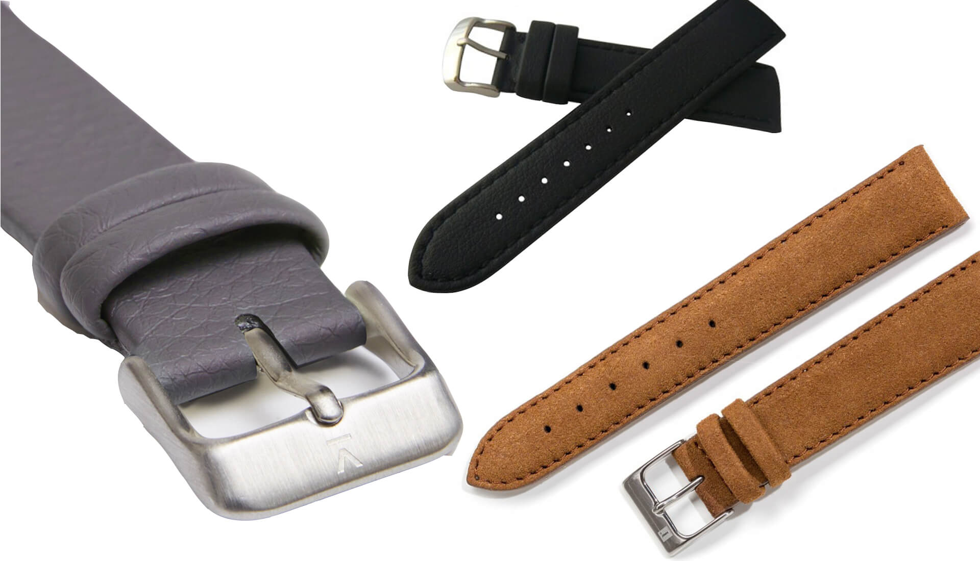 """Watch 101: 3 Solid Vegan """"Leather"""" Strap Options"""