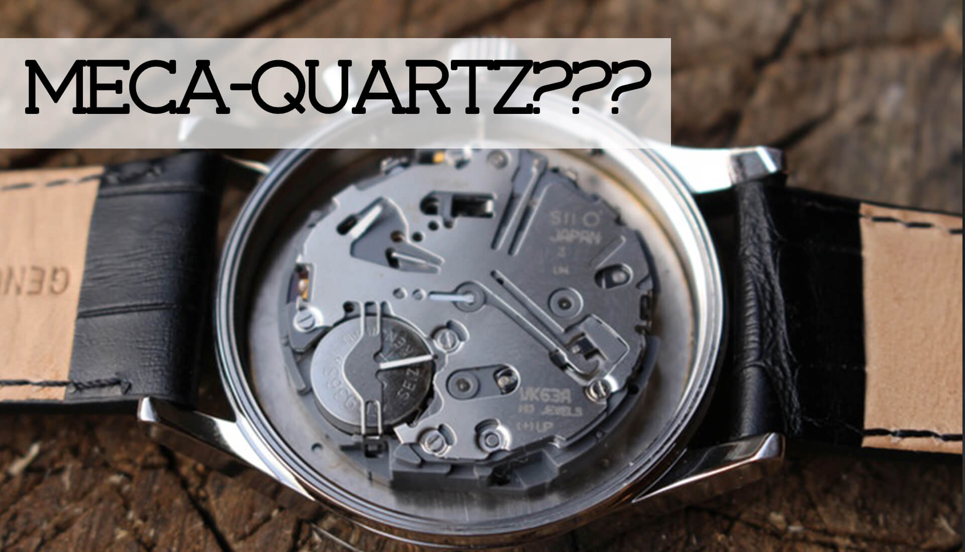 Watch 101: What is a Meca-Quartz Chronograph Movement?
