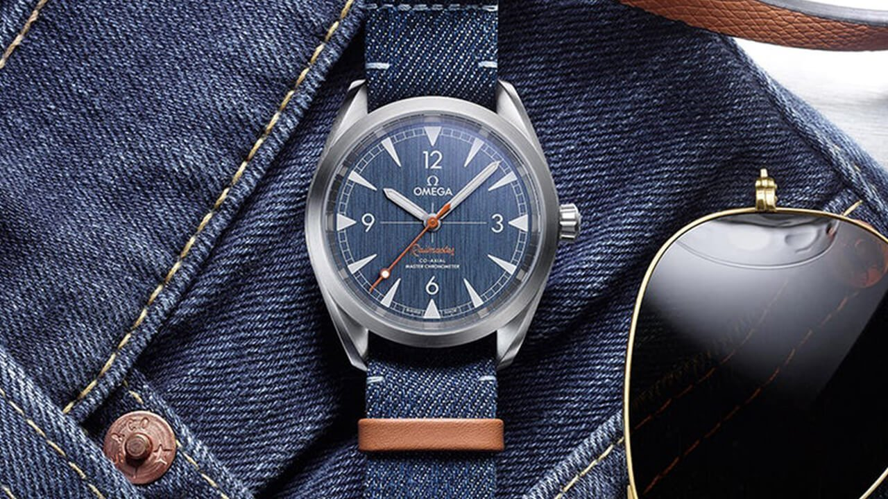 From The Press: Ridiculous or Genius (JEAN-ius?) – The New Omega Railmaster in Blue Denim