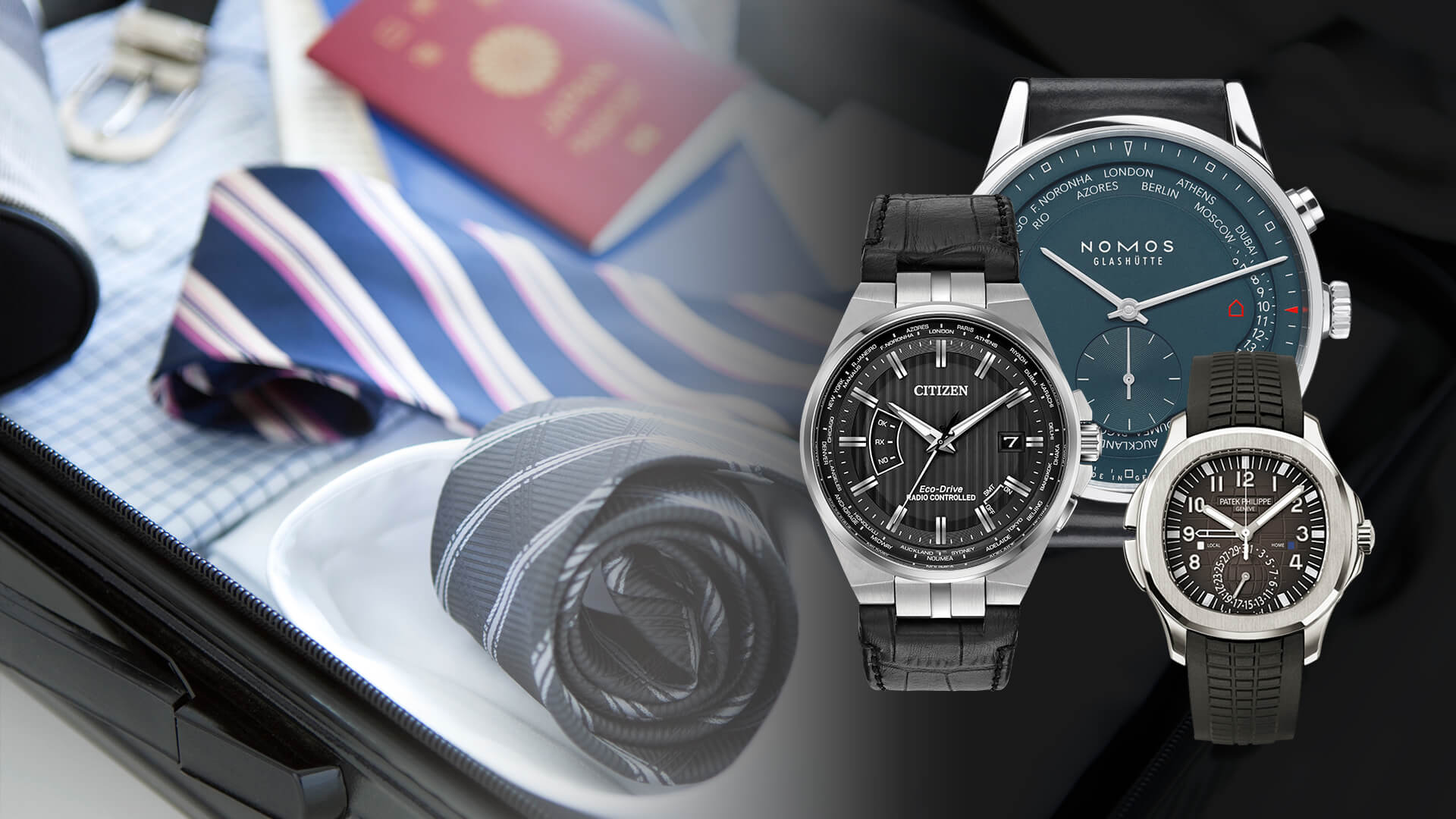 Watch 101: Three KILLER Travel Watches for Your End of Summer Trips