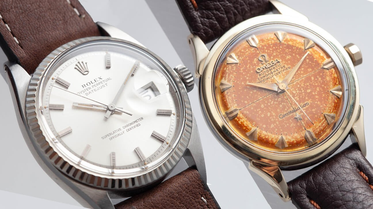 In The Metal: Two Favorite Vintage Watches / Rolex & Omega
