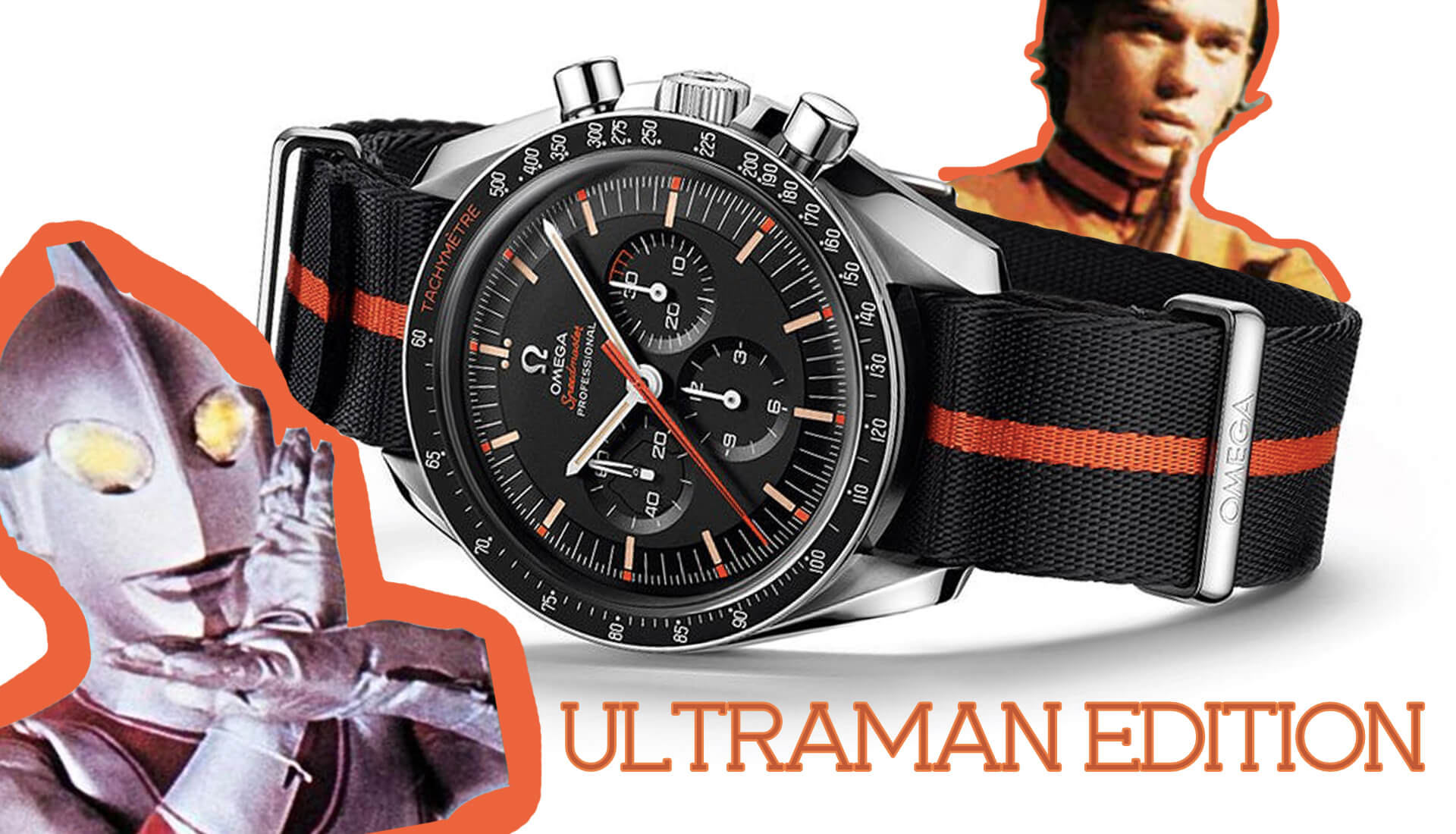 "From The Press: Introducing The Omega Speedmaster Speedy Tuesday 2 ""Ultraman"""
