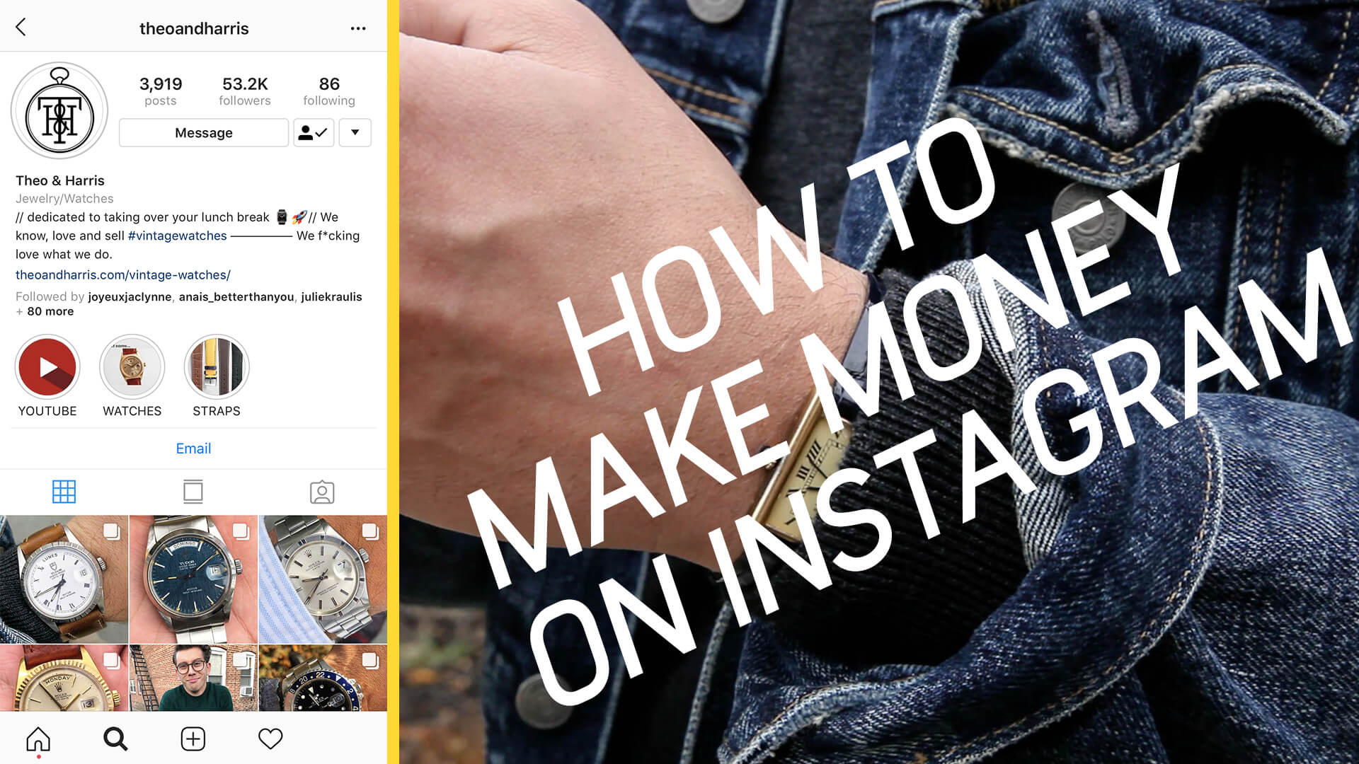 Off Topic: How To Make Money On Instagram