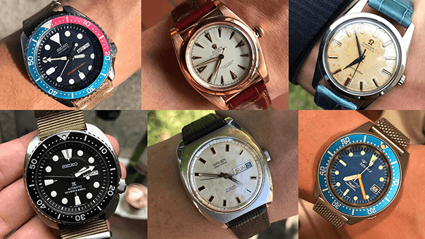 Collection Review: Two Seikos, One Rolex Bubbleback & An Omega Seamaster