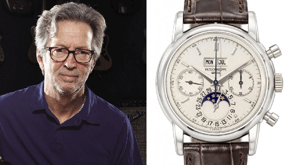 Collection Review: A Look at ERIC CLAPTON'S INSANE Watch Collection