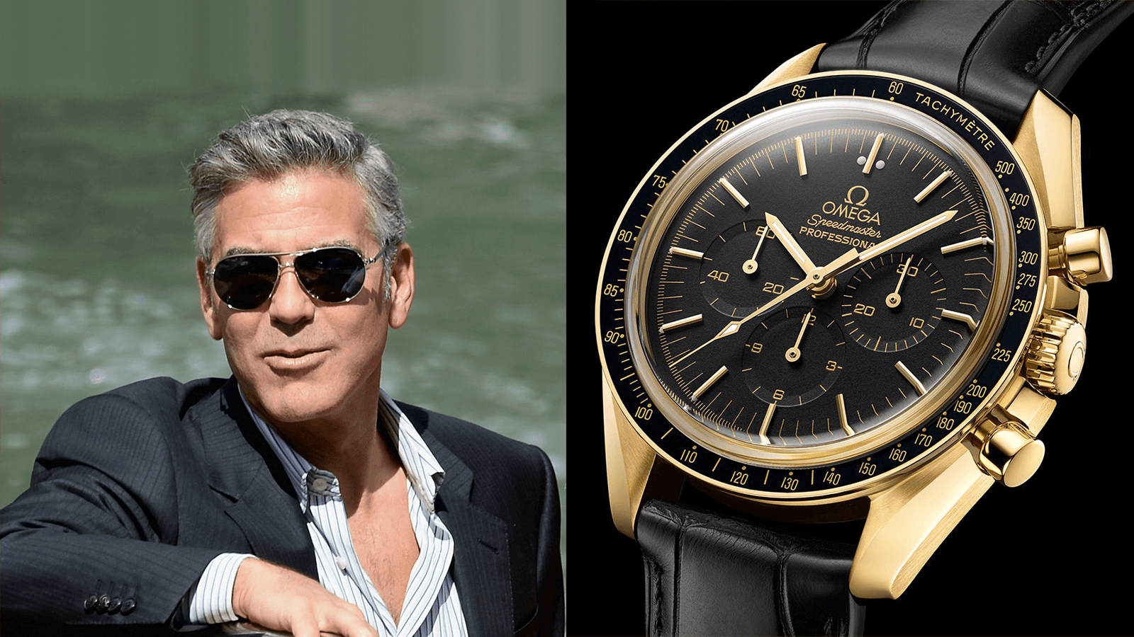 Collection Review: REVIEWING George Clooney's OMEGA Heavy Watch Collection