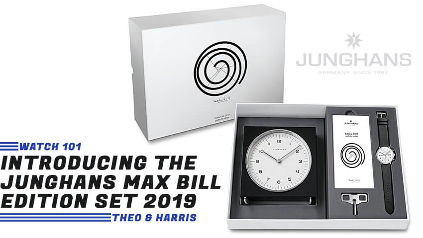 A Yearly Display of Form and Function: Introducing the Junghans Max Bill Edition Set 2019