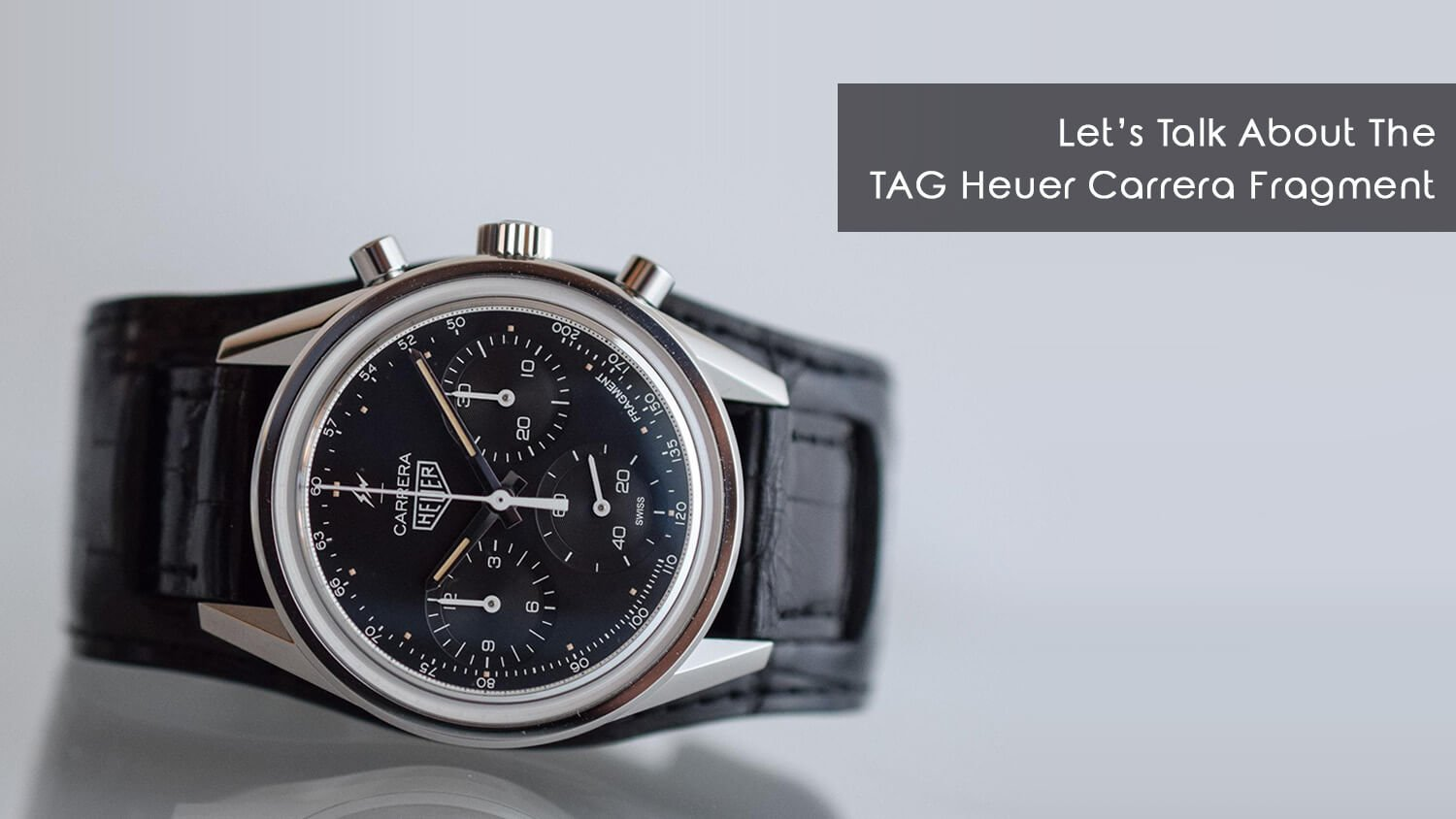 From The Press: Japanese Streetwear Meets Swiss Watchmaking with the TAG Heuer Carrera Fragment