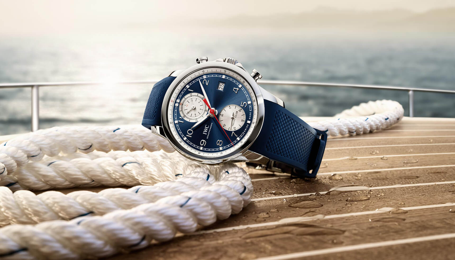 From The Press: IWC Owns The Summer With This New Portugieser Yacht Club Chrono