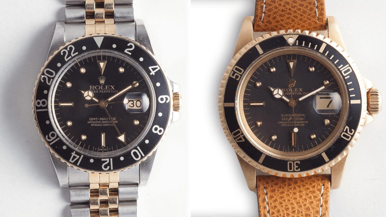 Lug2Lug: Two Grail Worthy Rolexes – A Solid Gold Submariner & A Two-Tone GMT
