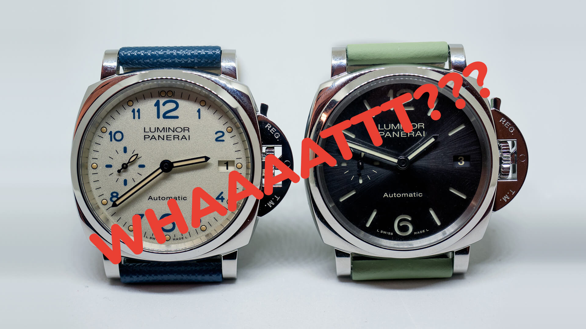 Liquor Run: A 38mm Panerai?! Total Knockout, or Complete Failure?