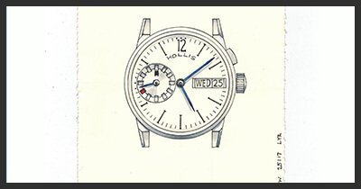 One Hour Watch: Drawing One Watch (in One Hour)