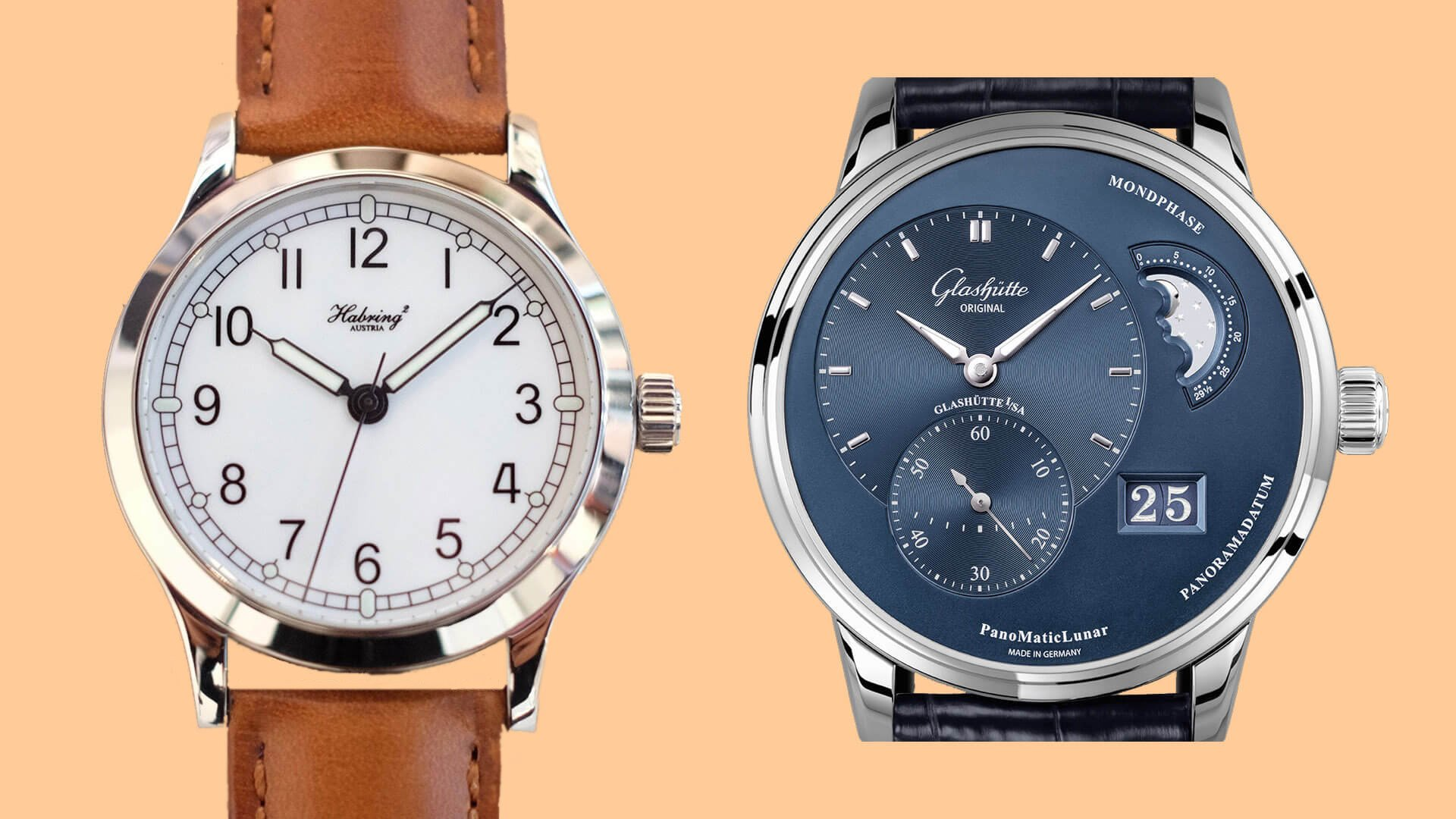 RANT&H: Most Underrated Watch Brands – Habring and Glashutte Original