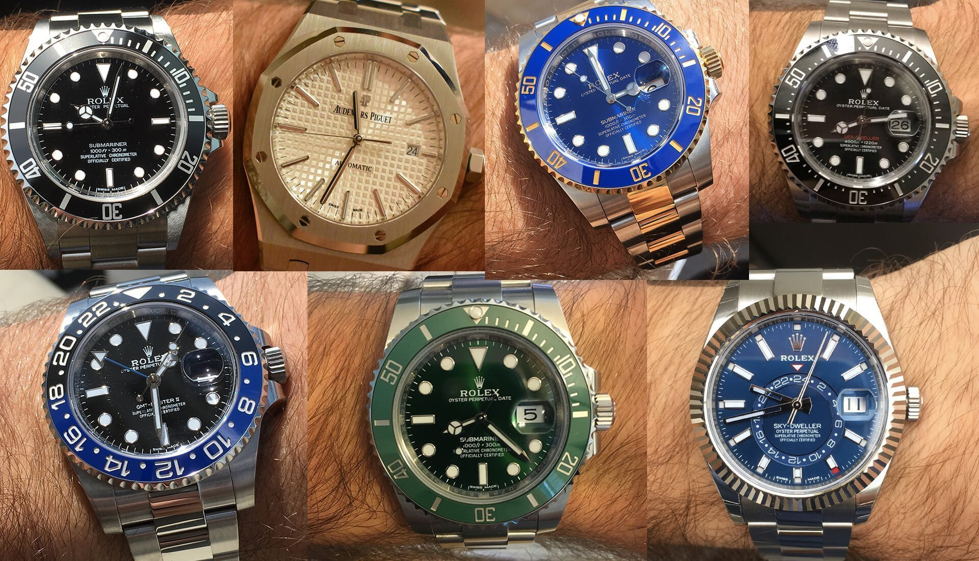 Collection Review: A 19 Year Old's Luxury Rolex Watch Collection