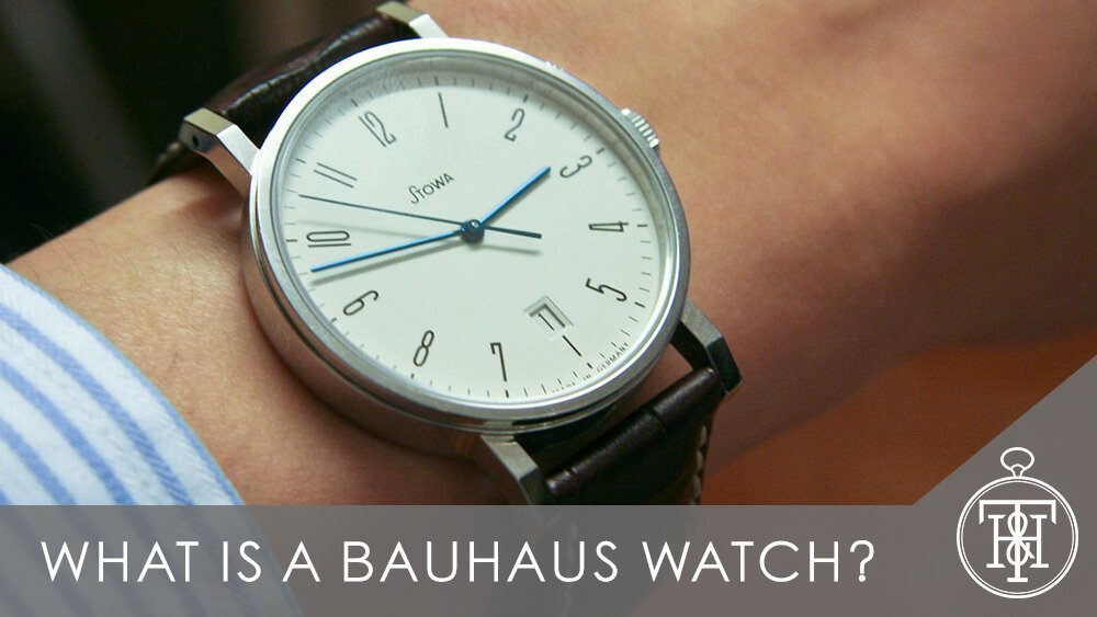 What is a Bauhaus Watch?