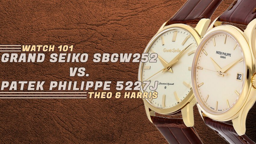 This or That: Grand Seiko SBGW252 vs. Patek Philippe 5227J