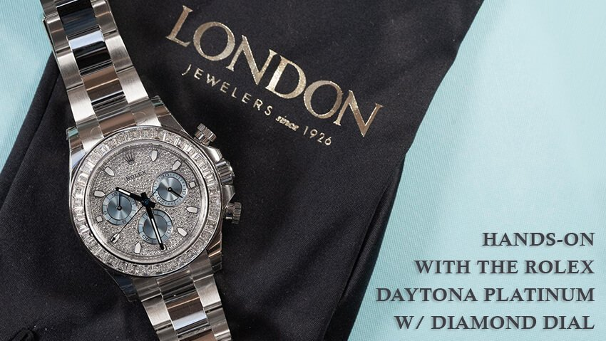 Ice, Ice, Rolly: Hands-On With the Rolex Daytona Platinum w/ Diamond Dial