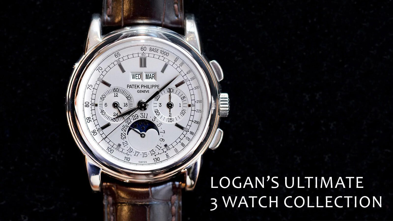 Watch 101: Logan's Ultimate 3 Watch Collection