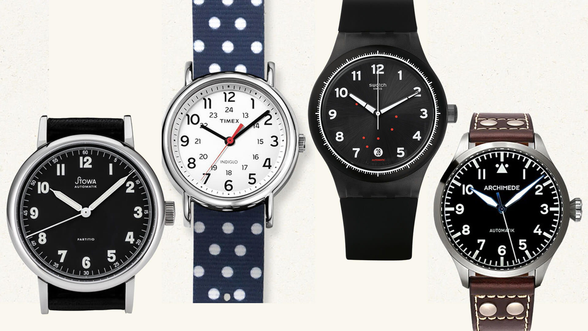 Watch 101: The BEST Modern Watches for Beginners