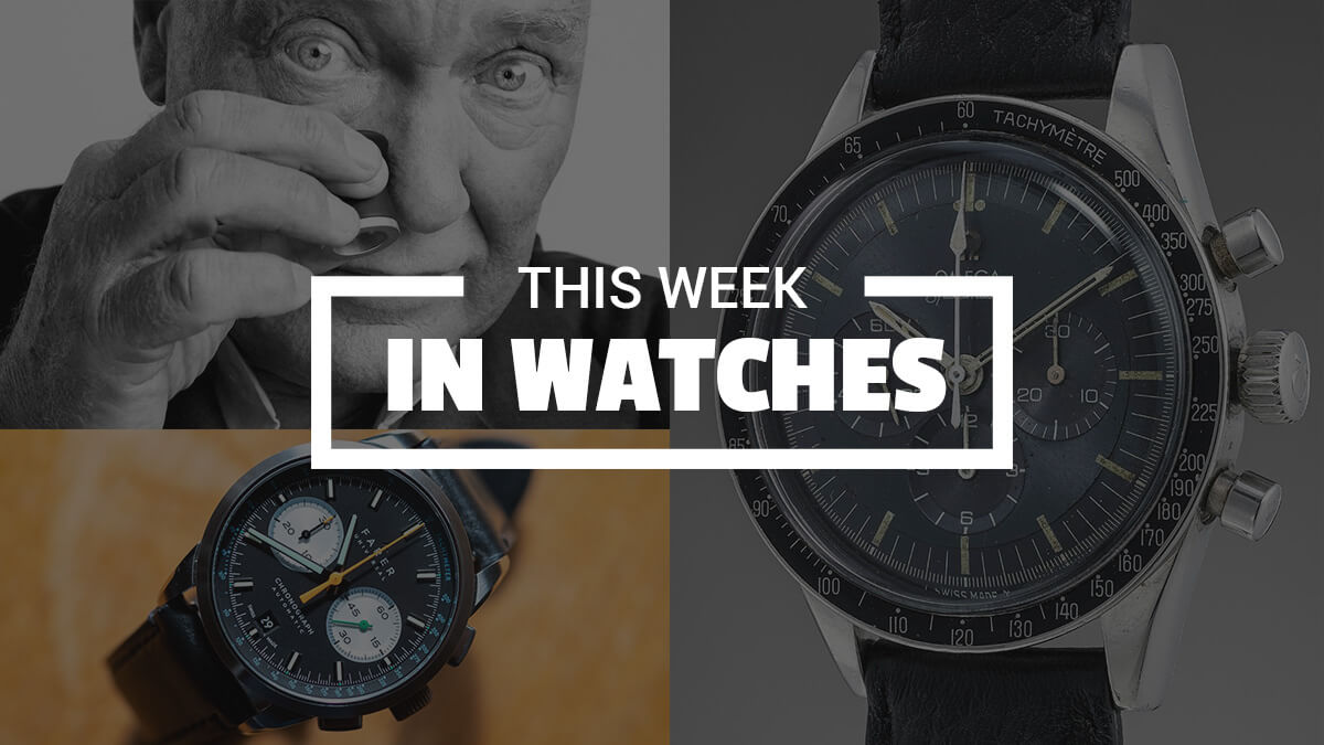 This Week In Watches: Biver, Farer & A Blue Speedy